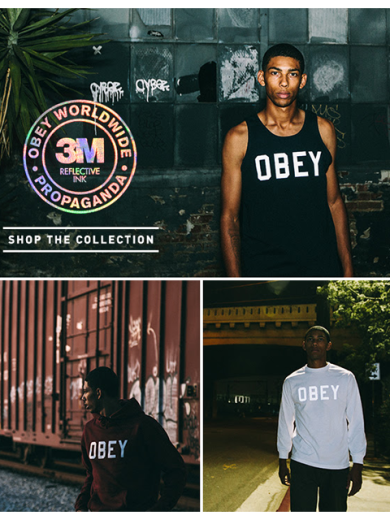 Obey 3M Reflective Collection